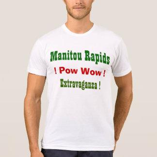 Prisionero de guerra de los rapids de Manitou guau Camisetas