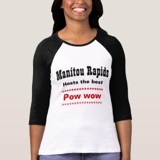 prisionero de guerra de los rapids del manitou gua camisetas