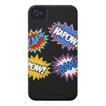 ¡Prisionero de guerra del cómic! Explosiones Case-Mate iPhone 4 Protector