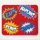 ¡Prisionero de guerra del cómic! Explosiones Tapete De Ratones