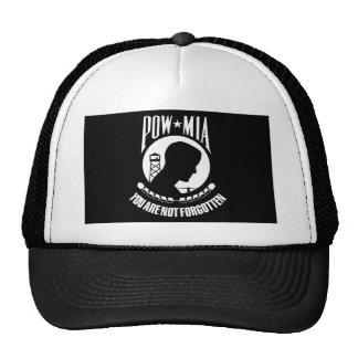 Prisionero de guerra - desaparecido en combate gorras