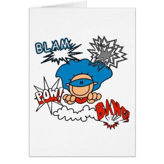 Prisionero de guerra estupendo de la explosión de  tarjeta de felicitación