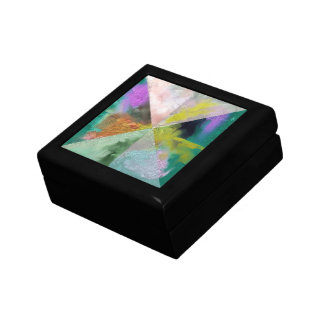 Prism Abstract Design Jewelry Box