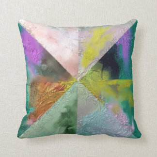 Prism Abstract Design Throw Pillow