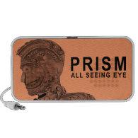 PRISM - All Seeing Eye - Apricot iPod Speakers (<em>$27.95</em>)