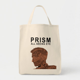 PRISM - All Seeing Eye - Apricot Tote Bag