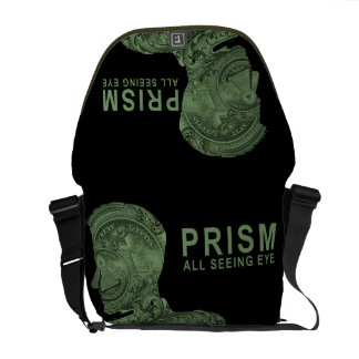 PRISM - All Seeing Eye - Green Courier Bag