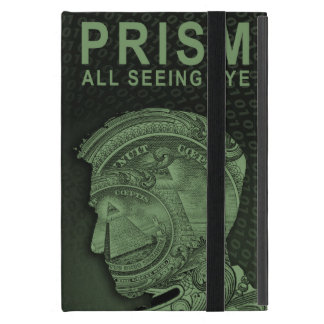 PRISM - All Seeing Eye - Green iPad Mini Cover