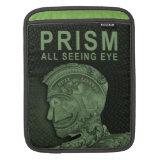 PRISM - All Seeing Eye - Green iPad Sleeves (<em>$51.30</em>)