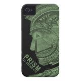 PRISM - All Seeing Eye - Green iPhone 4 Cover (<em>$54.95</em>)