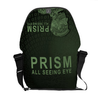PRISM - All Seeing Eye - Green Messenger Bag