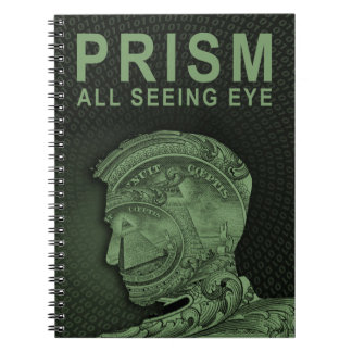 PRISM - All Seeing Eye - Green Note Book