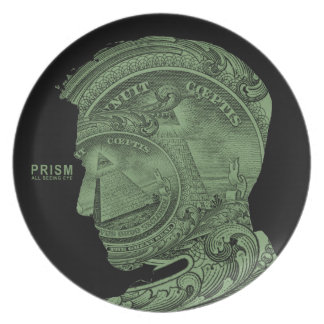 PRISM - All Seeing Eye - Green Plate