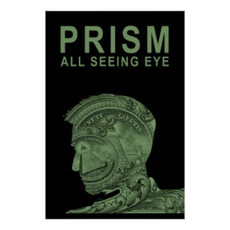 PRISM - All Seeing Eye - Green Poster