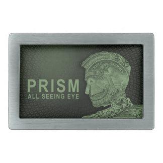 PRISM - All Seeing Eye - Green Rectangular Belt Buckle