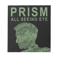 PRISM - All Seeing Eye - Green Scratch Pad (<em>$13.95</em>)