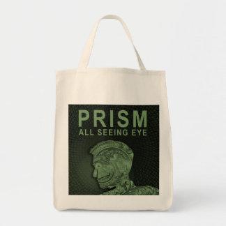 PRISM - All Seeing Eye - Green Tote Bag