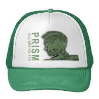PRISM - All Seeing Eye - Green Trucker Hat (<em>$16.70</em>)