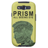 PRISM - All Seeing Eye - Lime Galaxy S3 Cover (<em>$61.95</em>)