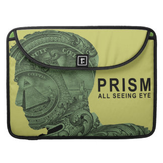 PRISM - All Seeing Eye - Lime MacBook Pro Sleeve