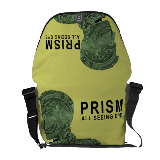 PRISM - All Seeing Eye - Lime Messenger Bag