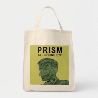 PRISM - All Seeing Eye - Lime Tote Bag
