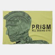 PRISM - All Seeing Eye - Lime Towel (<em>$21.95</em>)