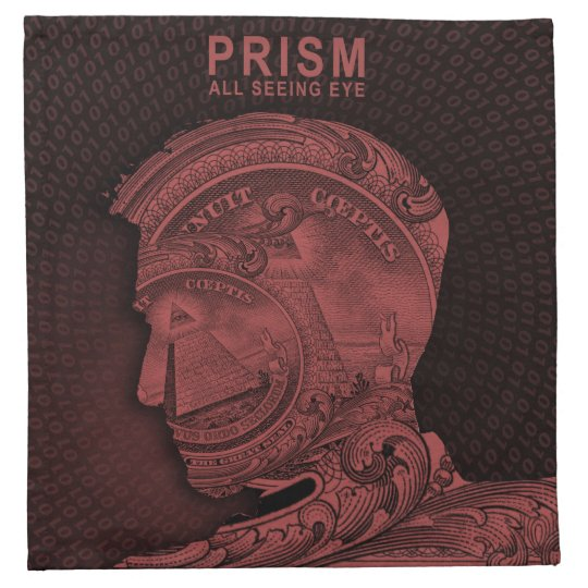 PRISM -All Seeing Eye Napkin