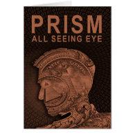PRISM - All Seeing Eye - Orange Card (<em>$4.00</em>)