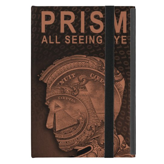 PRISM - All Seeing Eye - Orange iPad Mini Cover