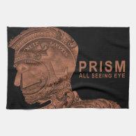 PRISM - All Seeing Eye - Orange Kitchen Towel (<em>$21.95</em>)
