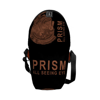 PRISM - All Seeing Eye- Orange Messenger Bag