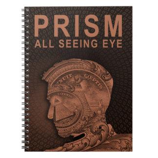 PRISM - All Seeing Eye - Orange Notebook