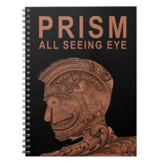 PRISM - All Seeing Eye - Orange Notebooks