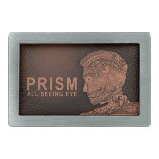 PRISM - All Seeing Eye - Orange Rectangular Belt Buckle