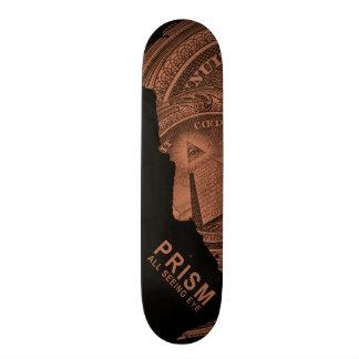 PRISM - All Seeing Eye - Orange Skateboard
