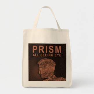 PRISM - All Seeing Eye - Orange Tote Bag