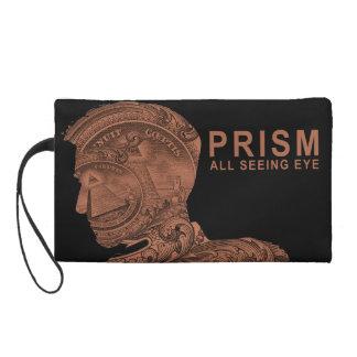 PRISM - All Seeing Eye- Orange Wristlet Purse