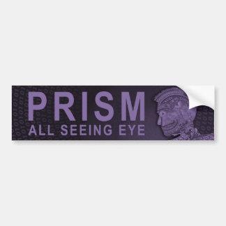 PRISM - All Seeing Eye - Purple Bumper Sticker
