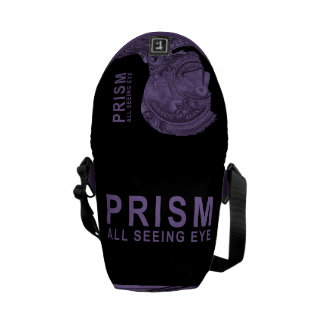 PRISM - All Seeing Eye -Purple Courier Bag