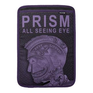 PRISM - All Seeing Eye - Purple MacBook Sleeve