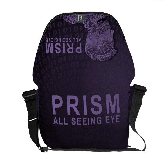 PRISM - All Seeing Eye - Purple Messenger Bag