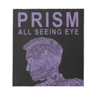 PRISM - All Seeing Eye -Purple Notepads (<em>$13.95</em>)
