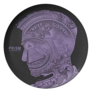 PRISM - All Seeing Eye -Purple Plate