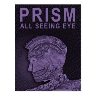 PRISM - All Seeing Eye - Purple Postcard