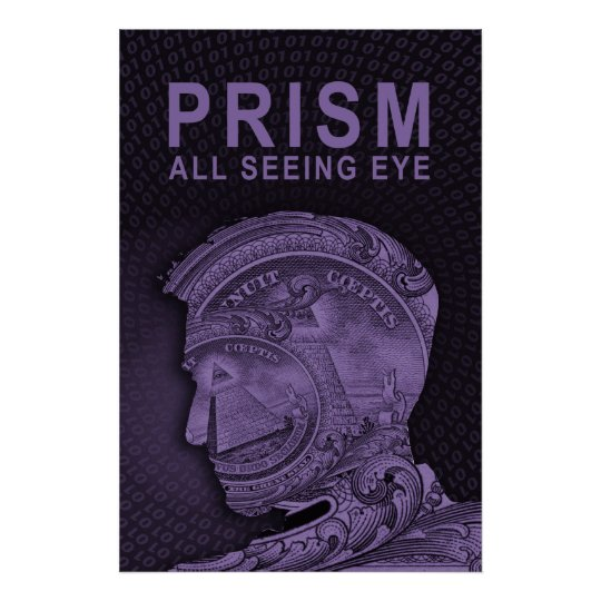 PRISM - All Seeing Eye - Purple Poster