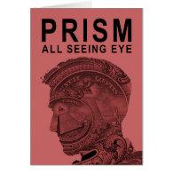 PRISM - All Seeing Eye - Raspberry Card (<em>$4.00</em>)