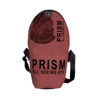 PRISM - All Seeing Eye - Raspberry Courier Bag