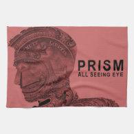 PRISM - All Seeing Eye - Raspberry Hand Towels (<em>$21.95</em>)