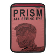 PRISM - All Seeing Eye - Raspberry Sleeves For MacBook Air (<em>$81.95</em>)